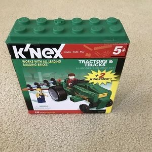 K'Nex Tractors & Trucks - NEW 138 pieces